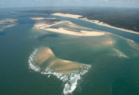 Photo du bassin d'Arcachon